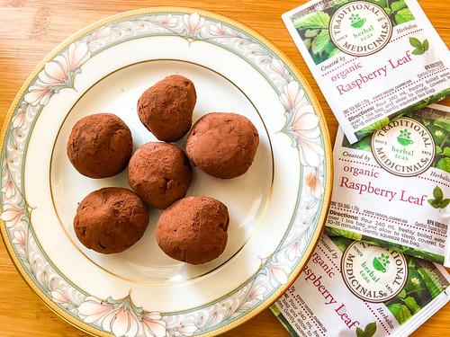 Raspberry Leaf Truffles-15 | by Suzie the Foodie www.suziethefoodie.com