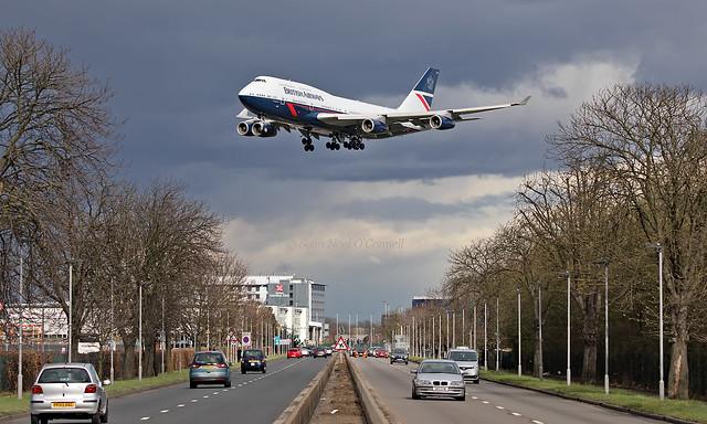 G-BNLY - Boeing 747-436 - LHR