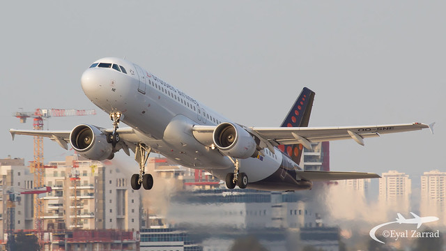 TLV - Brussels Airlines Airbus A320 OO-SNE