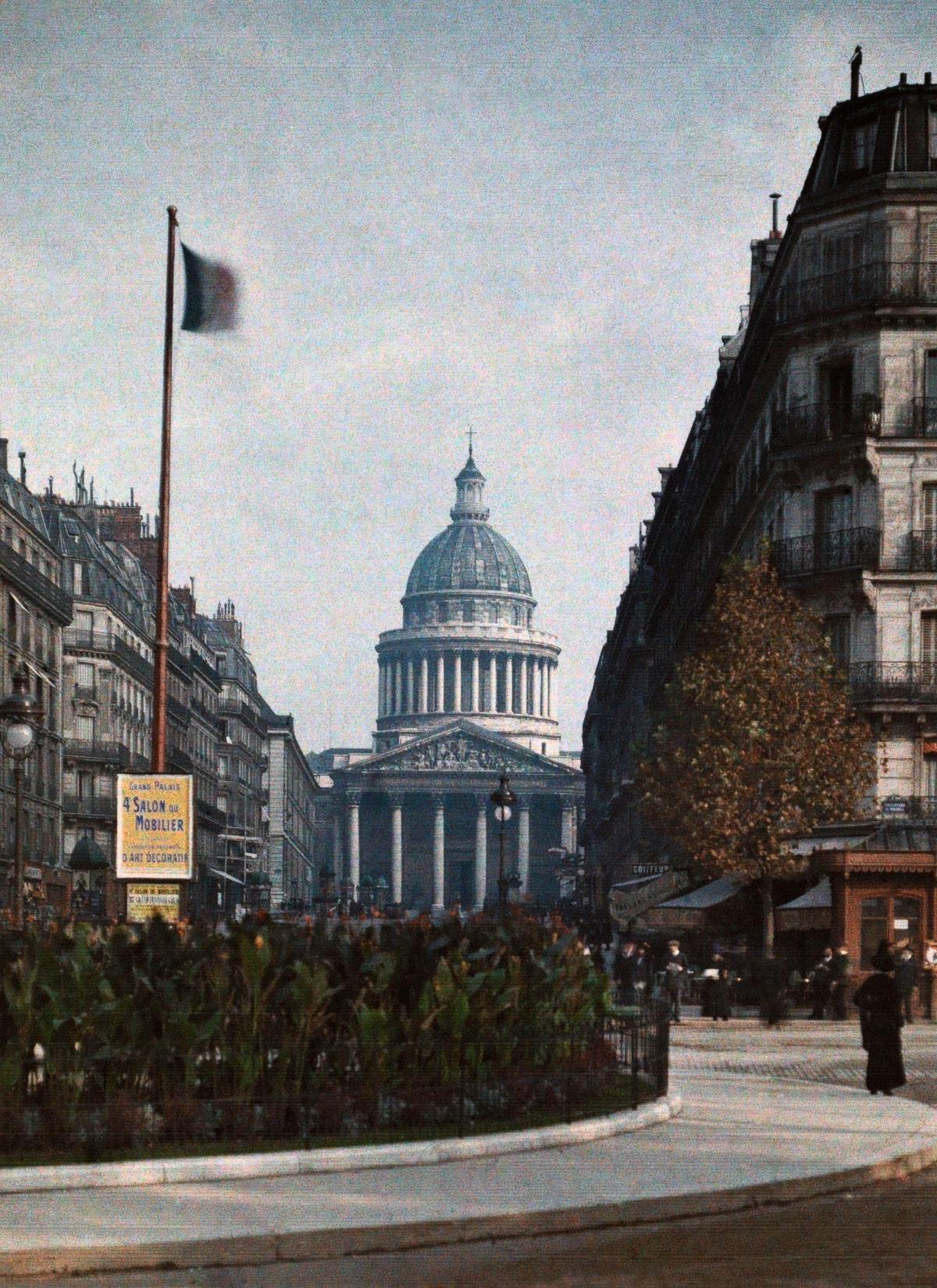 Пантеон, знаменитая достопримечательность в Париже
