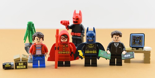 Dc minifigs #18 : Batman and Robin | by Alex THELEGOFAN