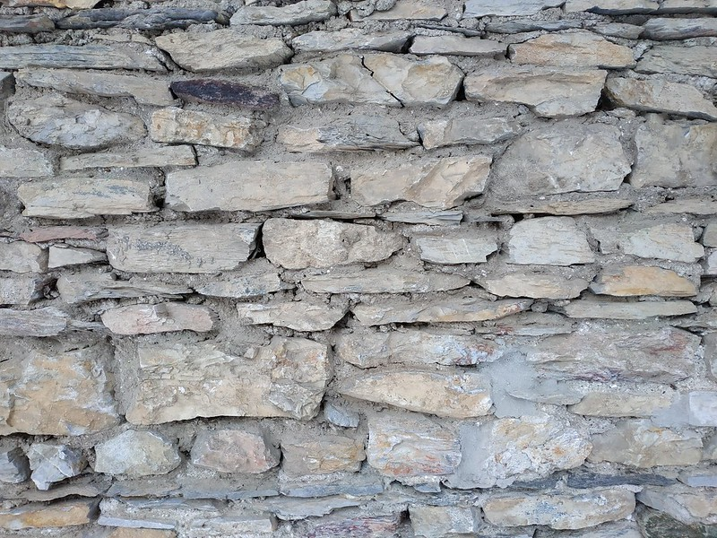 Wall texture with stone #2