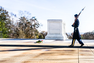 Tomb of the Unknown Soldier, Arlington National Cemetery, Arlington, Va., Nov. 2018 | by JenniferHuber