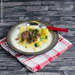 Buttermilch-Kartoffelsuppe