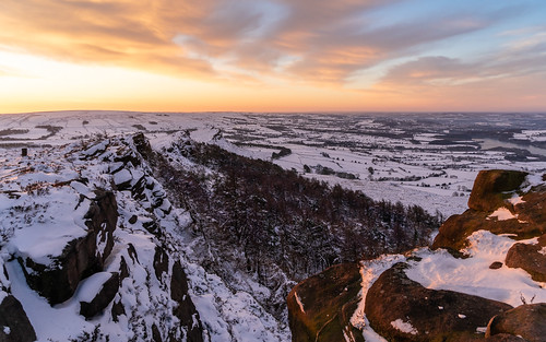 snowylandscape sunrise natureslandscape