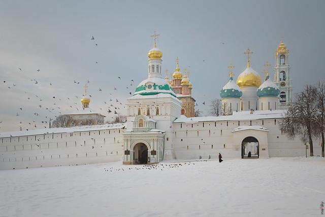 RUS70486 - Winter Time #15. Monastery