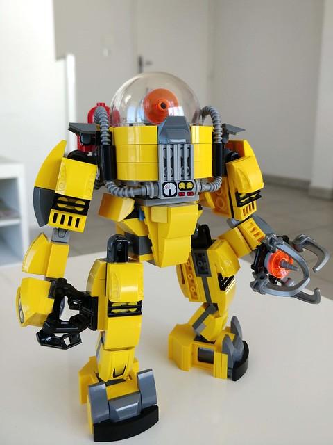 Underwater Robot mark II
