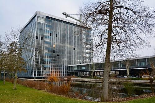 Demolition of the old Gorlæus building