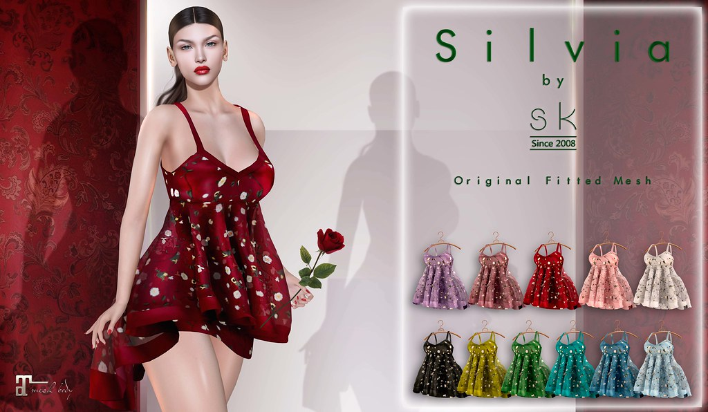 Silvia by SK poster