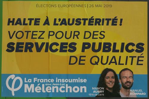 Votez pour des services publics de qualité