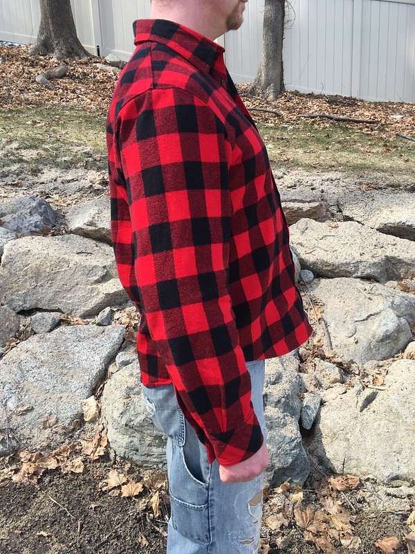 Men's Simplicity 1544 in Flannel