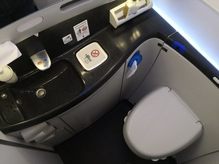 Inside the 787 lavatory | by A. Wee