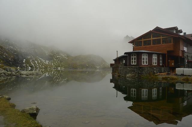 Reflections of a mountain lake V