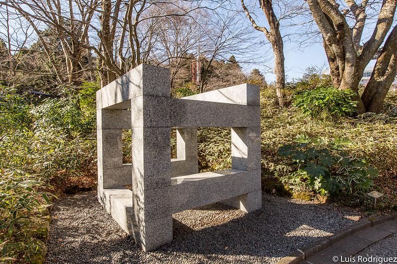 """Escultura de Pabellón"" de Max Bill"