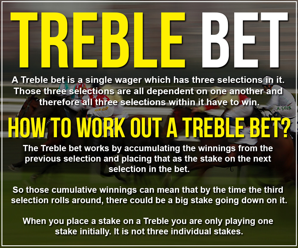 How To Work Out A Treble Bet - Treble Betting Explained