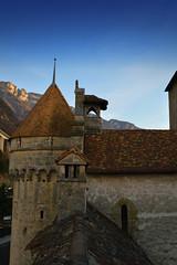 Walking in a Castle's Roof!