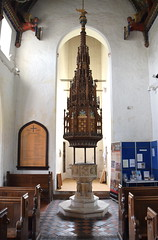 font (15th Century) and font cover (19th Century)