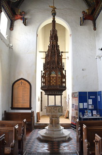 font (15th Century) and font cover (19th Century) | by Simon_K