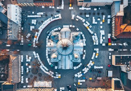Spring fair 2019 | Kaunas aerial | by A. Aleksandravičius