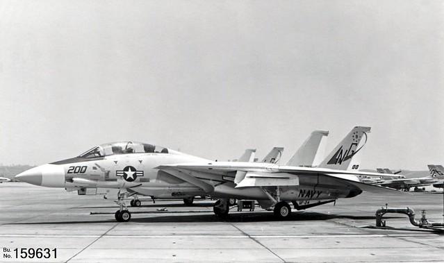 VF-24 Grumman F-14A Tomcat 159631