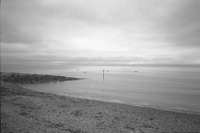 Distant Kayaks