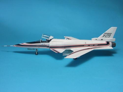 Hasegawa Grumman X-29_finish_5 | by dermot.moriarty