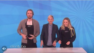 Dax Shepard Kristen Bell on EllenTube | by Everyday Snapshot