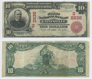 United States $10.00 (ten dollars) national currency