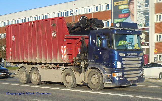 2011 Scania G480 AW81198 scrap metal collector