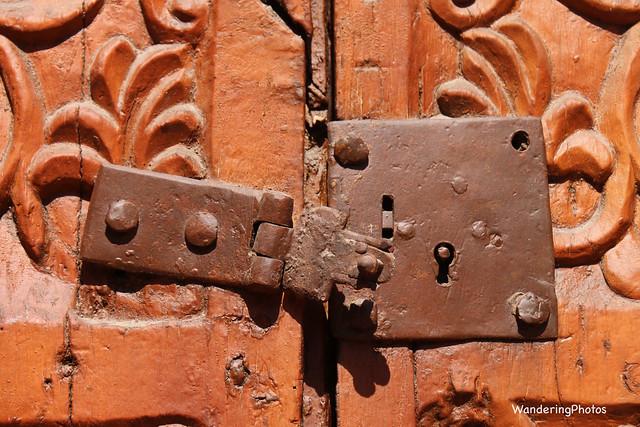 Rusty Old Door Lock - Santa Catalina Monastery - Arequipa Peru