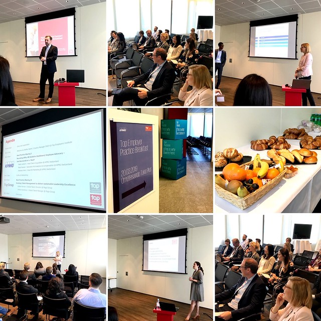 Top Employers Connect Best Practice Breakfast @ 20.03.2019 Zurich - KPMG