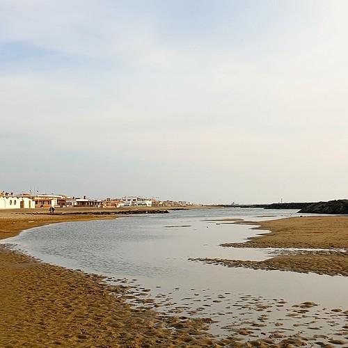 Fiumicino: due passi in spiaggia