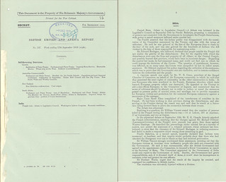 British Empire And Africa Report No. 137- Week ending September 17 1919 | by Archives New Zealand