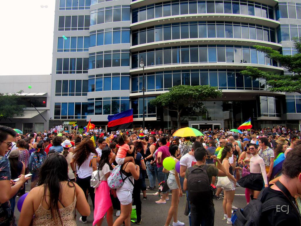 Gente feliz, Marcha de la Diversidad 2018 / Happy people, Costa Rican Pride 2018