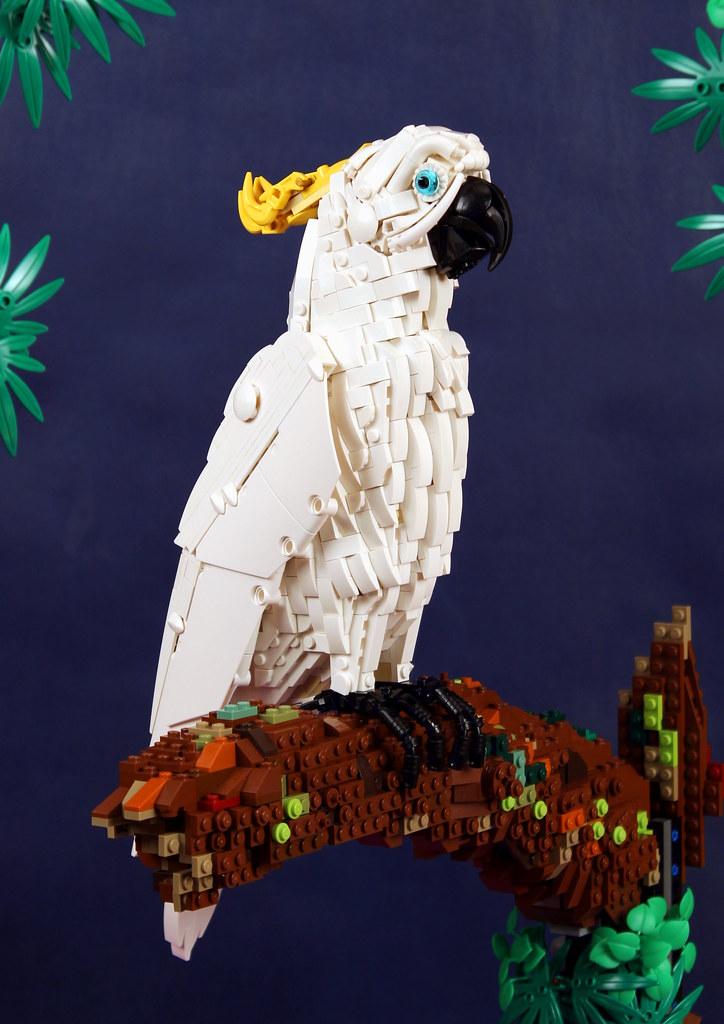 Animal Yellow VERY RARE LEGO Minifig Bird // Parrot