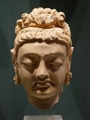 Bodhisttava Head, Ghandara, c. 300 AD