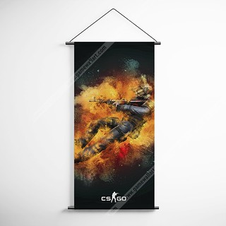 CSGO 14 Counter Strike Global Offensive Decorative Banner Flag for Gamers | by gamewallart