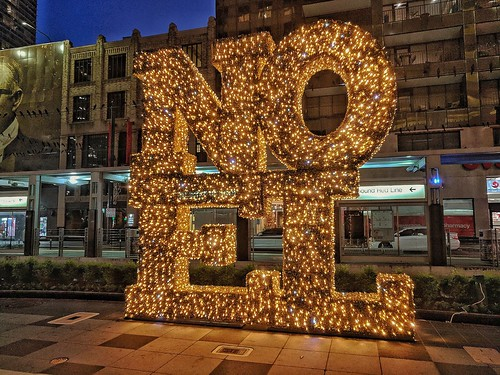 NOEL sign Main St, Houston | by elnina999