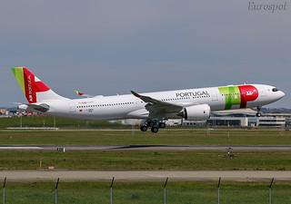 F-WWCD Airbus A330 Neo Air Portugal | by @Eurospot