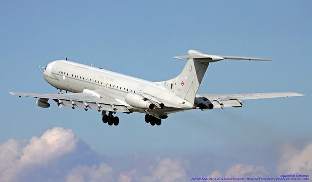 ZA150 LMML 24-11-2012 United Kingdom - Royal Air Force (RAF) Vickers VC-10 K.3 CN 885