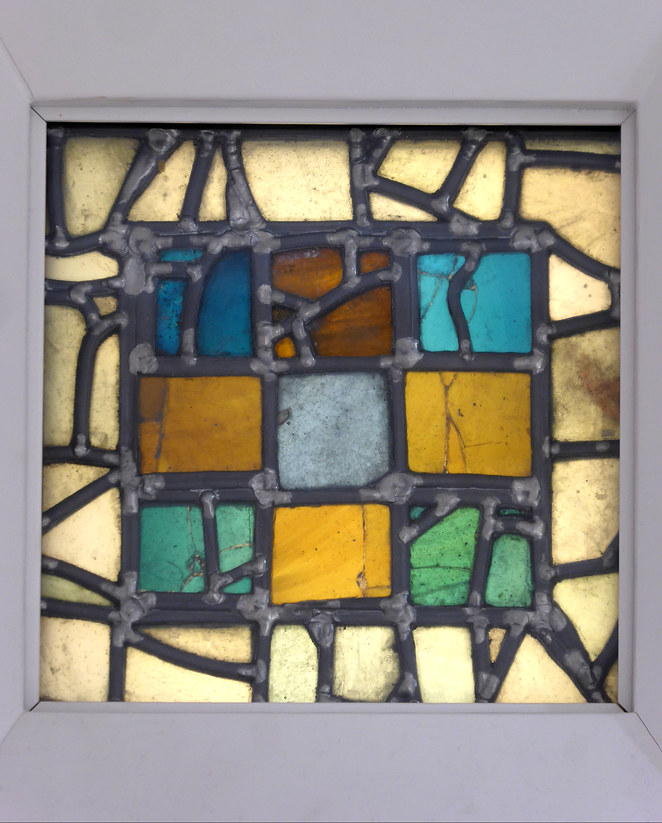 Anglo Saxon Stained Glass, Jarrow