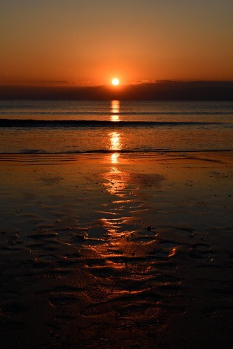 enoshima view sunrise sea beach landscape sunset