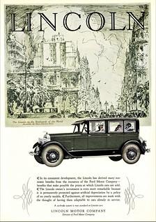 1927 Lincoln 3-Window 4-Passenger Berline