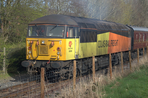 Diesel train at Ribble Steam Railway and Museum, Preston | by Tony Worrall