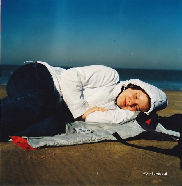 6x6 scan | Resting in Zandvoort