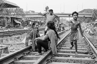Train line Slums of Dhaka | by Geraint Rowland Photography