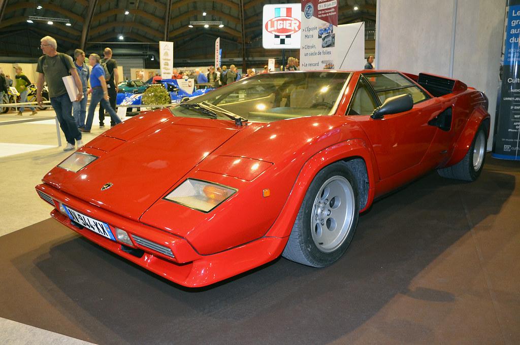 Lamborghini Countach Lp500 Avignon Motor Festival 2019 Flickr