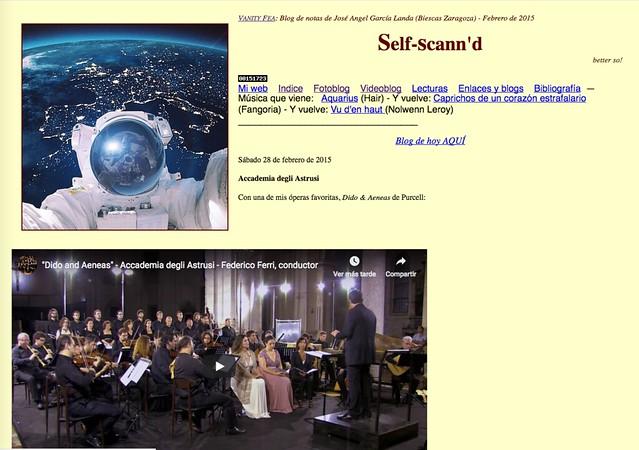 Self-Scann'd: Blog de notas de febrero de 2015