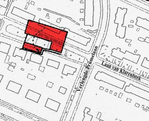 Locatie van Huis Klarenbeek