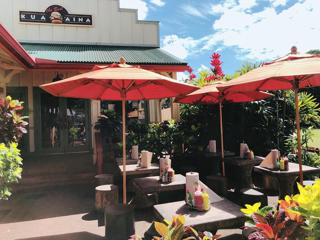 歐巴馬漢堡,夏威夷必吃漢堡,KUA'AINA BURGERS